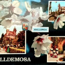Postales: VALLDEMOSA. VISTAS VARIAS. ED. PALMA. NUEVA. COLOR. Lote 270924903