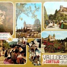 Postales: VALLDEMOSA. 2706 LA CARTUJA. VISTAS VARIAS. ED. PALMA. NUEVA. COLOR. Lote 270924908
