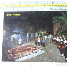 Postales: POSTAL DE MALLORCA. AÑO 1966. BUÑOLA PREDIO SON AMAR BARBACOA. 2568 PLANAS. 642. Lote 271448193