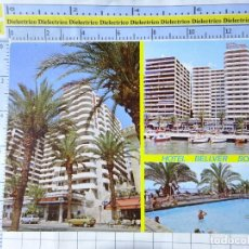 Postales: POSTAL DE MALLORCA. AÑO 1982. PALMA, HOTEL BELLVER SOL. 2490 CLIK CLAK. 647. Lote 271448888