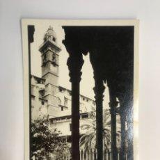 Postales: PALMA DE MALLORCA. POSTAL CLAUSTRO DE SAN FRANCISCO. EDIT. CASA TRUYOL (H.1950?) S/C. Lote 271489568