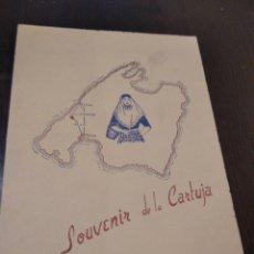Postales: SOUVENIR DE LA CARTUJA VALLDEMOSA MALLORCA. Lote 271561938