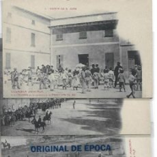 Postales: (PS-66077)LOTE DE 6 POSTALES DE CIUDADELA(MENORCA)-FIESTA DE S.JUAN. Lote 276182688