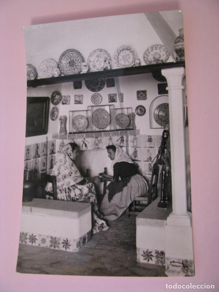 POSTAL FOTOGRÁFICA DE MALLORCA. ESCENA TIPICA EN CASA MULET. GENOVA. FOTO TRUYOL. (Postales - España - Baleares Moderna (desde 1.940))