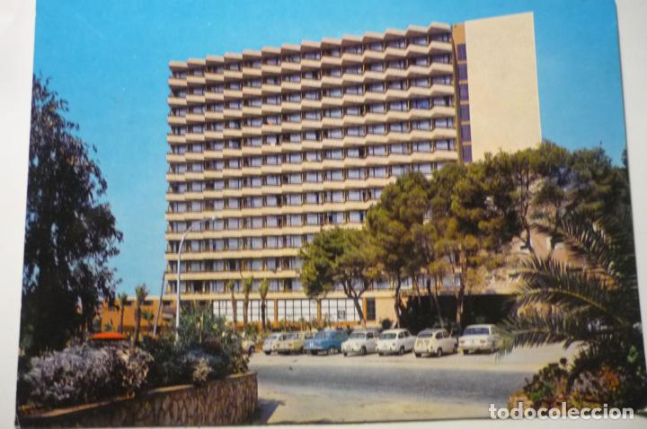 POSTAL MALLORCA .-MAGALUF HOTEL BARBADOS ESCRITA CM (Postales - España - Baleares Moderna (desde 1.940))