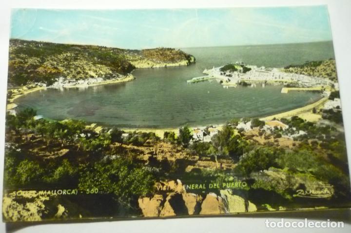 POSTAL SOLLER GENERAL PUERTO CURCULADA COLOREADA CM (Postales - España - Baleares Moderna (desde 1.940))