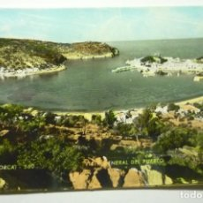 Postales: POSTAL SOLLER GENERAL PUERTO CURCULADA COLOREADA CM. Lote 277518133