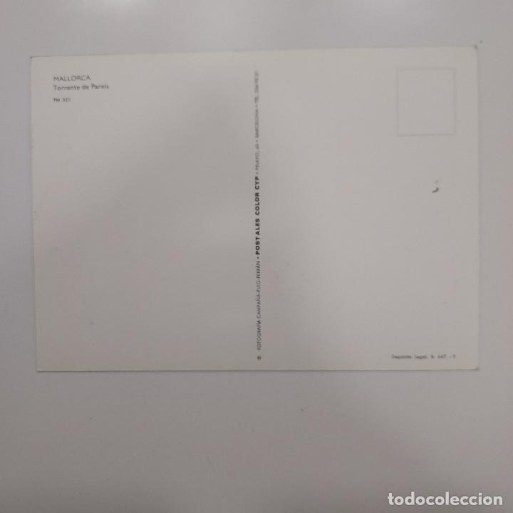Postales: POSTAL TORRENTE DE PAREIS. MALLORCA (BALEARES). SIN ESCRIBIR. CAMPAÑÁ PM 353 - Foto 2 - 277590543