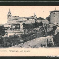 Postales: VALLDEMOSA. LA CARTUJA. MALLORCA - PAISAGES.. Lote 277592098