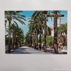 Postales: POSTAL PALMA DE MALLORCA. PASEO DE SAGRERA (BALEARES). SIN ESCRIBIR. ICARIA Nº 1541 RARA AÑOS 60. Lote 277592193