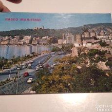 Postales: POSTAL PALMA DE MALLORCA, PASEO MARÍTIMO. Lote 277664098