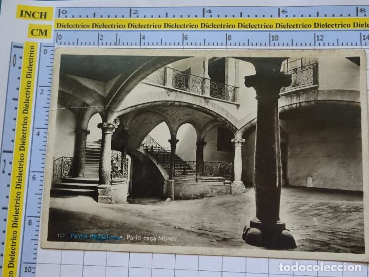 POSTAL DE MALLORCA. AÑOS 30 50. PALMA, PATIO CASA MORELL 127 AM. 893 (Postales - España - Baleares Moderna (desde 1.940))