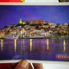 Postales: POSTAL IBIZA BALEARES IBIZA DE NOCHE N 1101 H RIBAS S/C. Lote 277823763