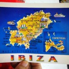 Postales: POSTAL IBIZA MAPA N31R MARTINA S/C. Lote 277824038