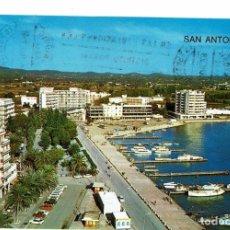 Postales: POSTAL SAN ANTONIO ABAD / IBIZA / RINCÓN DE LA BAHÍA / ESCRITA CON SELLO A REUS. Lote 278274163