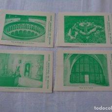 Cartes Postales: MUSEO MUNICIPAL DEL CASTELL DE BELLVER. 4 ENTRADAS ANTIGUAS CON SELLO O VIÑETA EN TRASERA. Lote 278395108