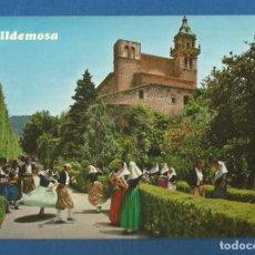 Postales: POSTAL SIN CIRCULAR BAILES TIPICOS VALLDEMOSA MALLORCA 2727 EDITA CASA PLANAS. Lote 278872323