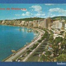 Postales: POSTAL SIN CIRCULAR PALMA DE MALLORCA 15045 PASEO MARITIMO EDITA ICARIA. Lote 278873428