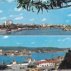 Postales: MENORCA, MAHON VISTAS DEL PUERTO. ED. LUCIA MORA, ALAYOR Nº 84. AÑO 1966. SIN CIRCULAR. Lote 279439823