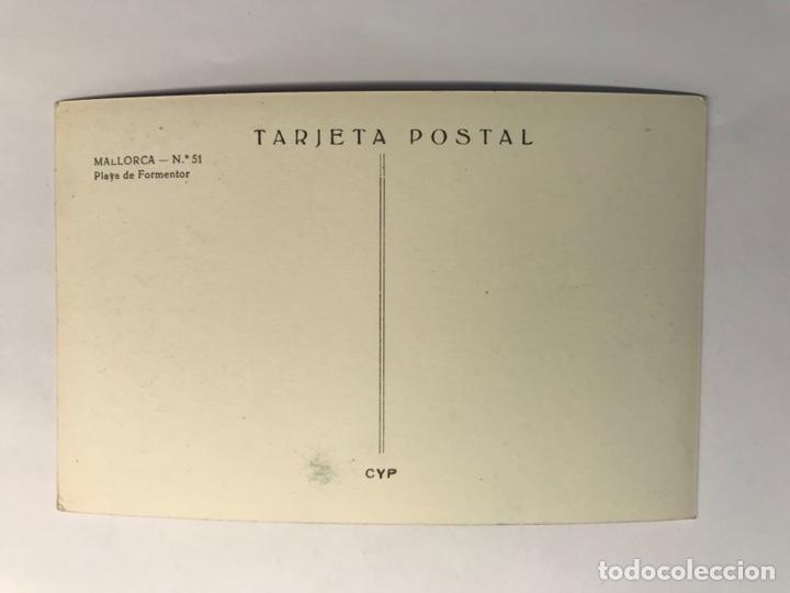 Postales: MALLORCA, Postal No.51, Playa de Formentor Ediciónes C y P (h.1959?) S/C - Foto 2 - 279485243