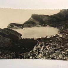 Postales: MALLORCA, POSTAL NO.69, PUERTO DE SOLLER DESDE CAN BLEDA. EXCLUSIVAS A. VICH (H.1950?) S/C. Lote 279485268