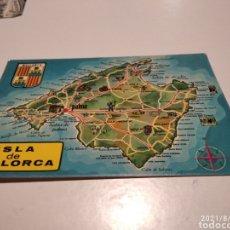 Postales: POSTAL ISLA DE MALLORCA. Lote 280119638