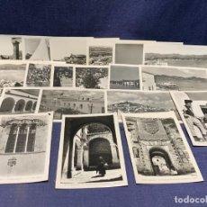 Postales: LOTE 19 POSTALES IBIZA FOTO VIÑETS BALEARES 9X14CMS. Lote 281035168