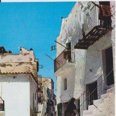 Postales: TARJETA POSTAL. IBIZA (BALEARES) CALLE TÍPICA KOLORHAM IB 4495 ESCRITA EN REVERSO. Lote 284658843
