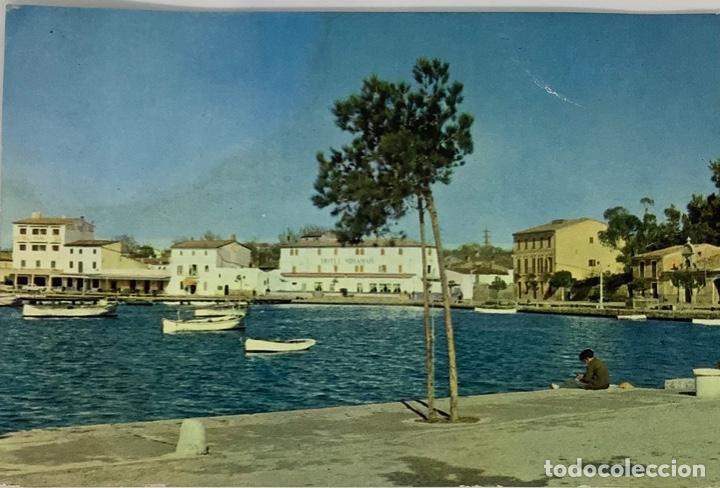 MALLORCA, ALCUDIA PUERTO. ÁGATA. CIRCULADA 1962. (Postales - España - Baleares Moderna (desde 1.940))