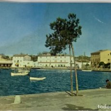 Postales: MALLORCA, ALCUDIA PUERTO. ÁGATA. CIRCULADA 1962.. Lote 286197743