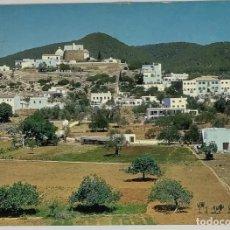 Cartes Postales: IBIZA, SANTA EULALIA DEL RÍO, VISTA GENERAL PUIG DE MISSA. CABRERIZO. CIRC 1967. Lote 286554218