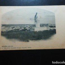Postales: MAHON MENORCA MOLINO FOTO DE M. HERNÁNDEZ-REMIGIO REVERSO SIN DIVIDIR. Lote 287219508