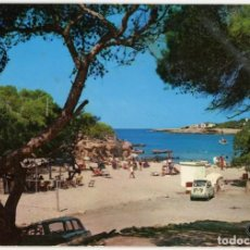 Postales: BM1386 EIVISSA PORTINATX 1970 PLANAS Nº336 SEAT 600 CABRIO FURGONETA. Lote 287556178