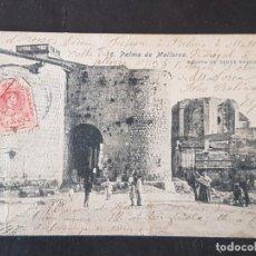 Cartes Postales: PALMA DE MALLORCA PUERTA DE SANTA MARGARITA. Lote 287683588