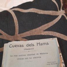 Postales: BLOC CON 25 POSTALES CUEVAS DEL HAMS ,MANACOR. Lote 288180823