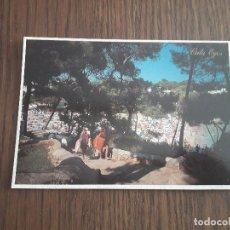 Postales: POSTAL DE PLAYA EN CALA EGOS, CALA D'OR, MALLORCA, AÑO 1994. Lote 288418788
