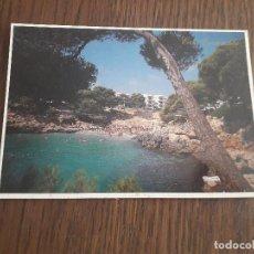 Postales: POSTAL DE PLAYA CALA ESMERALDA, CALA D'OR, MALLORCA, AÑO 1994. Lote 288418828