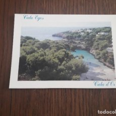 Postales: POSTAL DE PLAYA CALA ESMERALDA, CALA D'OR, MALLORCA, AÑO 1996. Lote 288418943