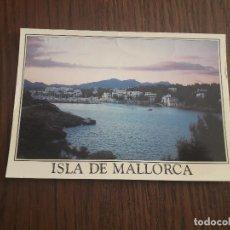 Postales: POSTAL DE CALA D'OR, ISLA DE MALLORCA, AÑO 1989. Lote 288419018
