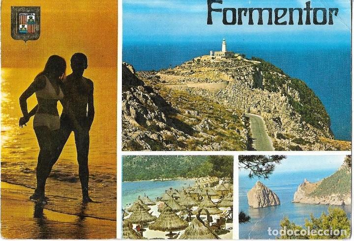*** D372 - POSTAL - FORMENTOR - MALLORCA (Postales - España - Baleares Moderna (desde 1.940))