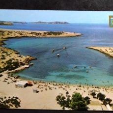 Postales: POSTAL * IBIZA ( EIVISSA ), RASTRILLO , PORT DES TURRENT , ILLA CONEJERA * - 1967. Lote 289002153