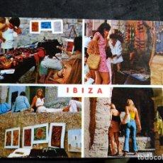 Cartes Postales: POSTAL * IBIZA ( EIVISSA ), MERCAT HIPPIE * - 1974. Lote 289003783