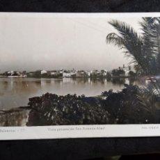 Postales: POSTAL * IBIZA ( EIVISSA ) ST. ANTONI , VISTA GENERAL * 1950. Lote 289005103