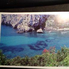 Postales: POSTAL * MENORCA , ALAIOR , CALES COVES * 1987. Lote 289468758