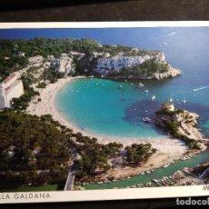 Postales: POSTAL * MENORCA , CALA GALDANA * 1993. Lote 289468868