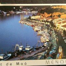 Postales: POSTAL * MENORCA , MAÓ * 1994. Lote 289468993