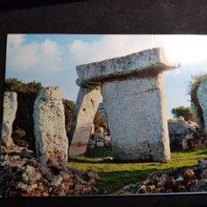 Postales: POSTAL * MENORCA , MAÓ , MONUMENT MEGALÑITIC TALATÍ * 1967. Lote 289470033