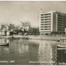 Postales: BA0846 MALLORCA PALMA DETALLE HOTEL BAHIA PALACE ZERKOWITZ Nº849 FOTOGRAFICA. Lote 289482713