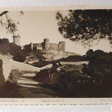 Postales: PALMA DE MALLORCA 34 / CASTILLO DE BELLVER/ FOT.F.GUILERA/ ORIGINAL DE ÉPOCA/ CIRCULADA/ ( REF.A.3). Lote 289521093