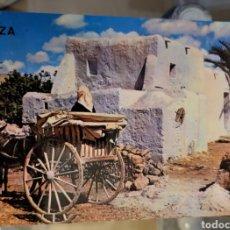 Postales: IBIZA (BALEARES) CONSTRUCCIÓN Y VEHÍCULOS TÍPICOS KOLORHAM, LIBRERÍA VERDERA MONTGIL 7 IBIZA. Lote 289773788